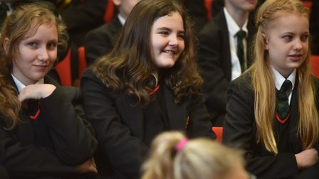 A roadshow shows students from Archbishop Sancroft School in Harleston all about computer science an