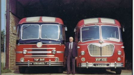 Norfolk Coachways. Picture: Courtesy of Attleborough Heritage Group