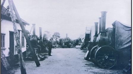 Beales Traction Engines. Picture: Courtesy of Attleborough Heritage Group