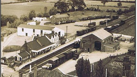 Tyrrell & Byford Granary. Picture: Courtesy of Attleborough Heritage Group
