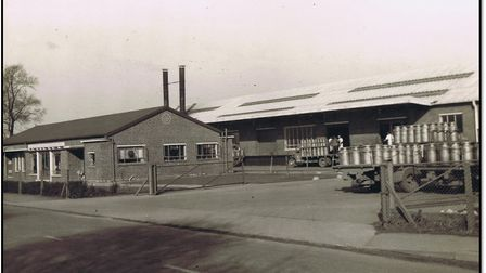 United Dairies. Picture: Courtesy of Attleborough Heritage Group