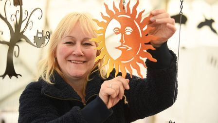 The Sandringham Craft Show. Pictured is Dawn Caley. Picture: Ian Burt