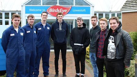 Birds Eye Ltd has offered 12 students from Lowestoft College work experience placements at their Low