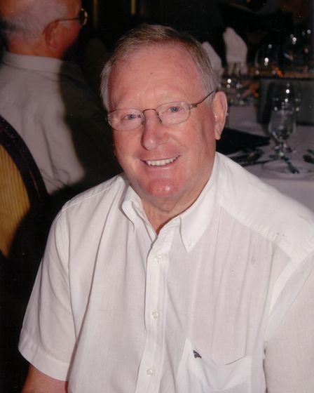 Norwich businessman Kenny Cooke who died in 2012. Picture: SUBMITTED BY THE COOKE FAMILY