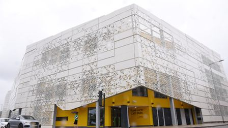 Norwich City Councils recently opened Rose Lane multi-storey car park in Mountergate. Picture: Stev