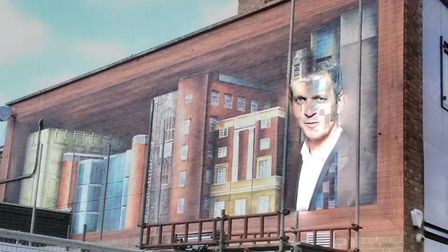 The Jeremy Kyle mural in Norwich. Picture: Danielle Booden