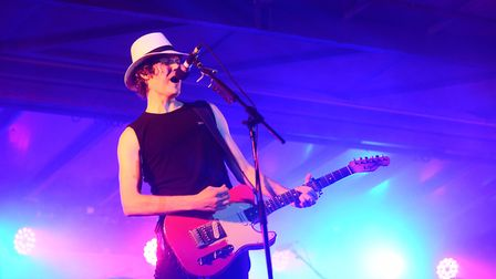 The Fratellis performing at Festival Too, King's Lynn. Picture: Ian Burt