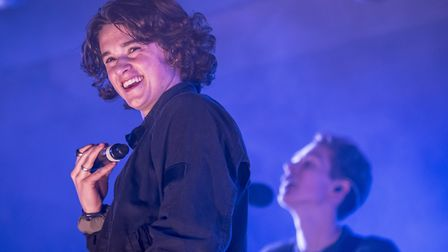 Festival Too 2016 - The Vamps on stage. Picture: Matthew Usher