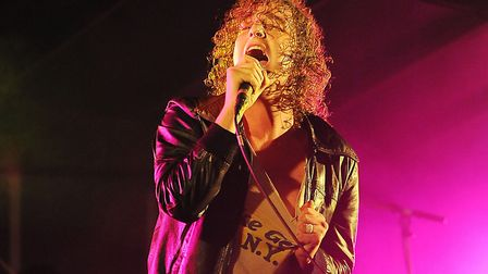 The Pigeon Detectives perform on stage in King's Lynn. Picture; Matthew Usher