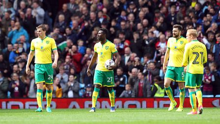 An all too familiar sight for Norwich City this season. Picture: Paul Chesterton/Focus Images Ltd