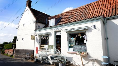 Itteringham Village Shop and Post Office. Picture: ANTONY KELLY