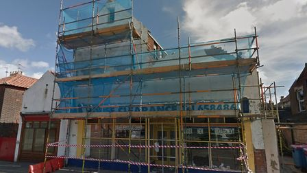 The building in Mill Road, Cobholm, Great Yarmouth where 16 new homes could be built. Photo: Google