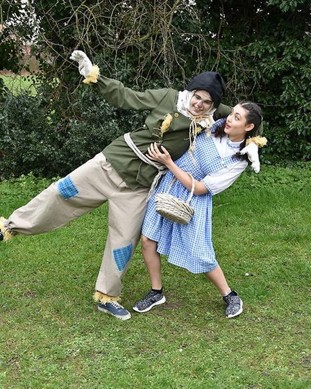 Dereham Youth Theatre Group is performing Wizard of Oz. Costumes provided by Dereham Theatre Costu