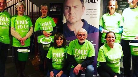 Volunteers from Norwich Samaritans. Picture: SENT IN BY NORWICH SAMARITANS