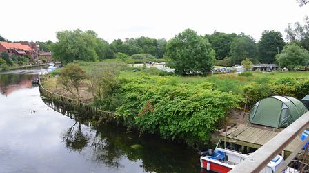 Thorpe Island is located on a beautiful stretch of the River Yare near Norwich. Picture by SIMON FI