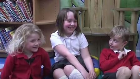 Find out what's been annoying the kids at Sparhawk Infant School this week. Picture: Mustard TV