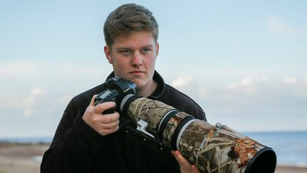 Kyle Moore, winner of the Young Mammal Photographer of the year 16-18. Picture: CONTRIBUTED