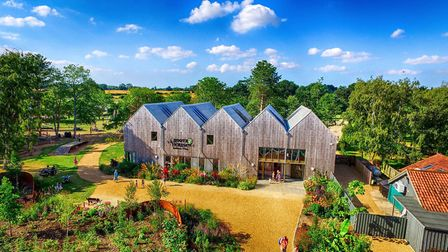 Hootz House, Pensthorpe, which has won a national award for innovation and excellence. Picture Credi