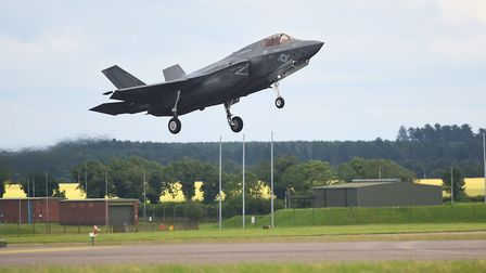 The F-35 Lightning which will be stationed at RAF Lakenheath. Picture: Ian Burt