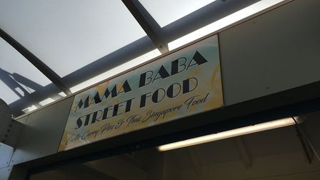 Mama Baba Hawker, a Singapore street food stall has opened at Norwich market, selling curry pies and