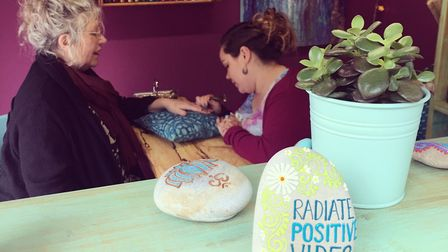 Nadia's Henna Happiness Studio has opened on Norwich Market, which offers henna tattoos and homemade