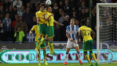 Norwich City's defence has been an accident waiting to happen at times this season. Picture: Paul C