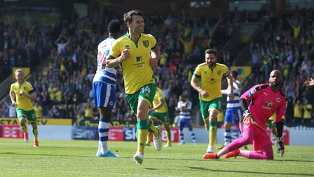 Wes Hoolahan brought up his half-century with a brace against Reading. Picture: Paul Chesterton/Foc
