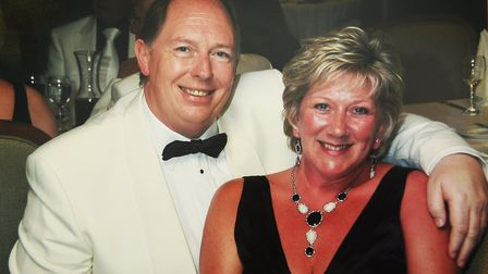 John and Shirley Tyrrell, owners of S & J Seafood shop in Norwich, have lost a total of eight stone