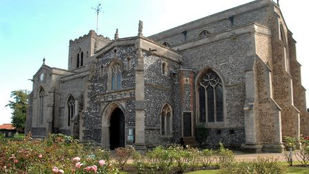 One of the Christian Aid Week events took place at St Mary's Church in Attleborough . Photo: Denise