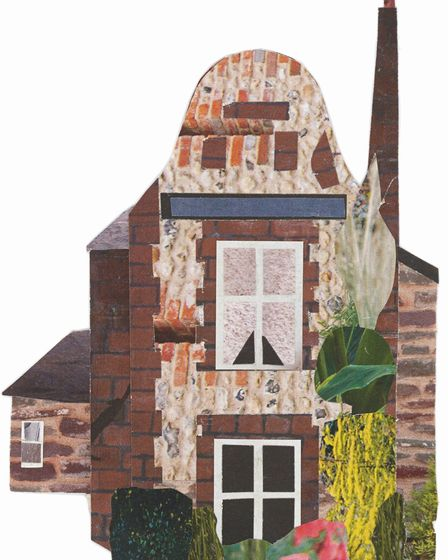 Artist Caitlín Law has a new exhibition at Norwich Playhouse called The Norwich Illustrated Pub Craw
