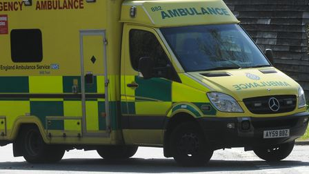 Library image of an ambulance. Photo: Andrew Partridge