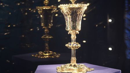 The Stories of Lynn museum in King's Lynn. Pictured is The King John Cup. Picture: Ian Burt
