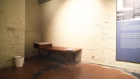 Inside the old Gaol Cells at the Stories of Lynn museum in King's Lynn. Picture: Ian Burt