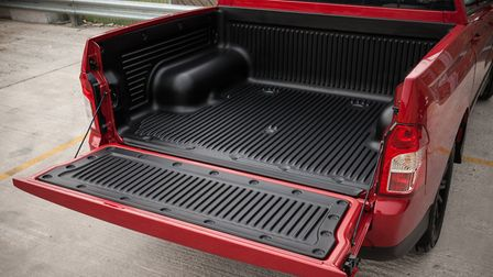 Load deck can take a Euro pallet and a one-tonne payload. Picture: SsangYong