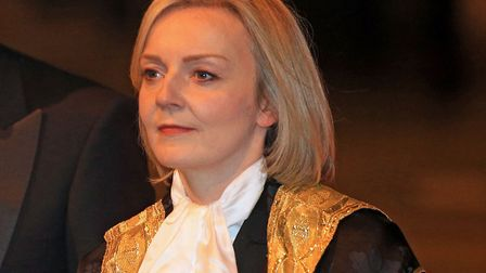 The Lord Chancellor and Secretary of State for Justice Elizabeth Truss arrives at the annual Lord Ma