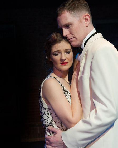 Ben Stock and Helen Power in Noel & Gertie by Sheridan Morley being staged at the Theatre Royal, Bur