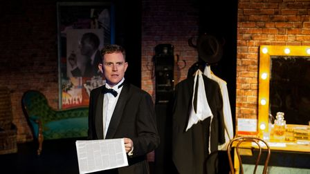 Ben Stock in Noel & Gertie by Sheridan Morley being staged at the Theatre Royal, Bury St Edmunds. Pi
