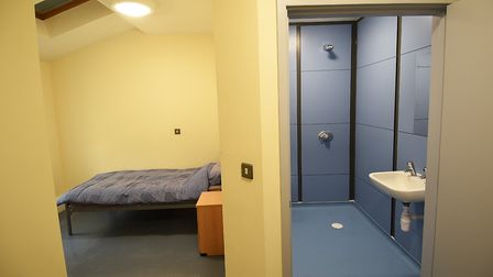 New extension and rooms and Bishopbridge House in Norwich. One of the new single rooms.Picture: ANT