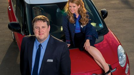 New episode of Car Share, featuring supermarket colleagues John (Peter Kay), Kayleigh (Sian Gibson),