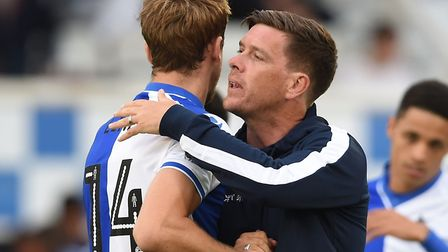 Bristol Rovers manager Darrell Clarke has been discussing his future after being linked with Norwich