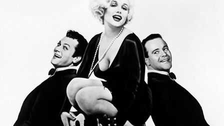 Marilyn Monroe stars with Tony Curtis and Jack Lemmon in Some Like It Hot. Picture: United Artists