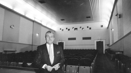Ben Russell-Fish, manager of the 272-seat Noverre Cinema, part of the Assembly House. Photo: Archant