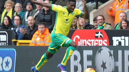 Alex Tettey in action for Norwich City. Picture by Paul Chesterton/Focus Images Ltd
