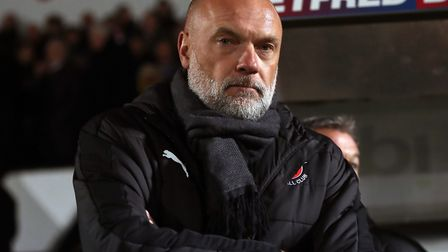 Fleetwood Town manager Uwe Rosler. Picture: Simon Cooper/PA Wire