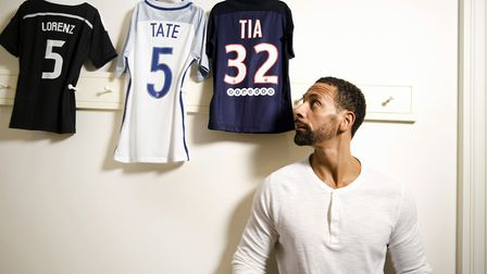 Rio Ferdinand: Being Mum and Dad. Picture: Richard Ansett/PA