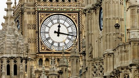 The clockface of Big Ben never did get converted to digital. Picture: PA