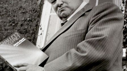 Astronomer Patrick Moore, seen here at the Angel Hotel in Bury St Edmunds, encouraged Radio 2 liste