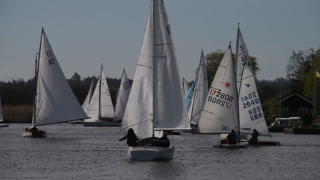 Horning Sailing Club's first day of racing for the 2017 season. Picture: Ian Symonds