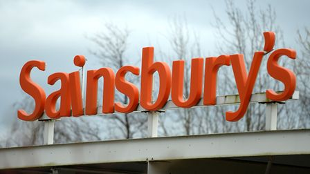 Sainsbury's has posted an 8.2% fall in annual profits to �503m. Picture: Andrew Matthews/PA Wire