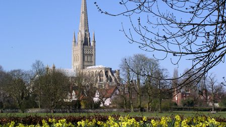 Spring In Norwich. Photo by Alan Moss.